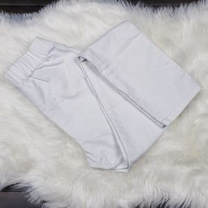 Soft Surroundings White Pull On Pants Size Small